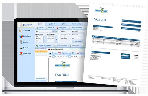 Faktum Factuur Software, Factuurprogramma; Faktum Factuur Software, Factuurprogramma